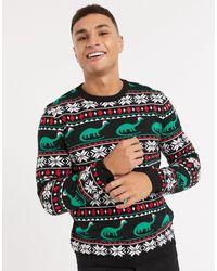 ASOS Jersey navideño - Negro