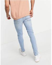 ASOS – Enge Jeans - Blau