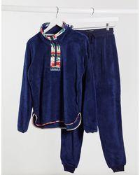 Chelsea Peers Ultra-zachte Pyjamaset - Blauw