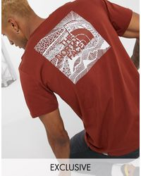 The North Face Red Box - T-shirt marrone - Rosso