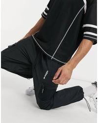 adidas Originals Черные Трикотажные Джоггеры С Карманами Adventure-черный Цвет