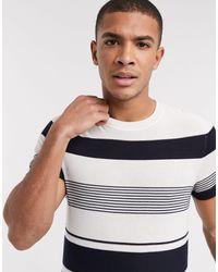 Jack & Jones Premium Knitted T-shirt - White