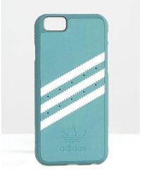 adidas Originals - Originals 3 Stripe Iphone 6 Plus Case In Khaki - Mineral Green - Lyst