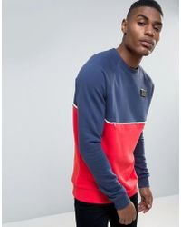 Cheats & Thieves | Panelled And Piped Sweater | Lyst