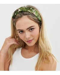 South Beach Safari Animal Print Elasticated Head Band - Multicolour