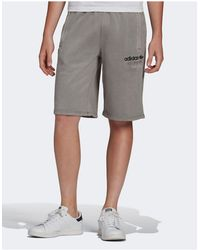 adidas Originals Серые Премиум-шорты -серый
