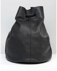 Warehouse - Leather Duffle Bag - Lyst