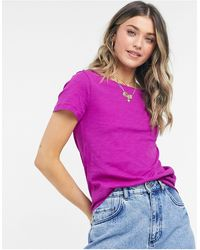 J.Crew J. Crew Vintage Cotton T-shirt - Purple
