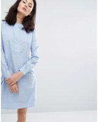ADPT - Heal Shirt Dress - Lyst