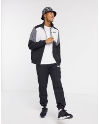 PUMA Woven Tracksuit - Grey