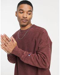 Champion Reverse Weave Sweatshirt - Red