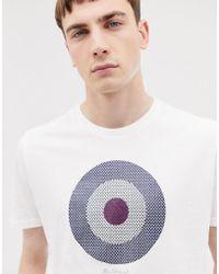 Ben Sherman - Check Target T-shirt - Lyst