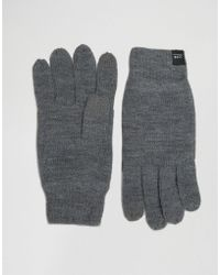 Jack & Jones - Gloves Dna With Touchscreen - Lyst