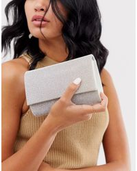 ALDO Embellished Clutch - Metallic