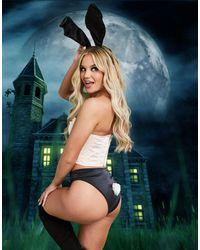 ASOS Jenna - Slip per Halloween - Nero
