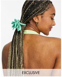 Reclaimed (vintage) Inspired Hair Bow - Green