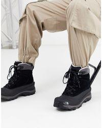 The North Face Черные Ботинки - Черный