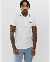 DIESEL T-randy Polo Shirt - White