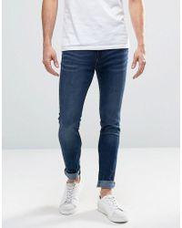 WÅVEN Worker Blue Spray On Jeans