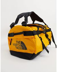 The North Face Base Camp Small Duffel Bag 50l - Yellow
