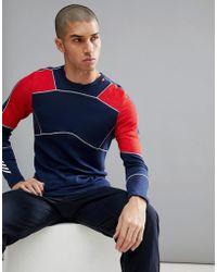 Helly Hansen - Hh Lifa Merino Crew Neck Ls T-shirt In Blue - Lyst