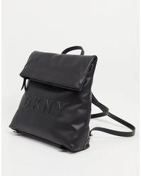 DKNY Sac à dos avec logo estampé - Noir