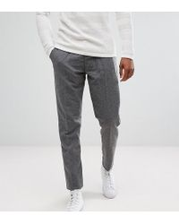 SELECTED - Tall Tapered Wool Mix Trousers - Lyst