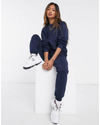 ASOS Tracksuit Ultimate Sweat / jogger With Tie - Blue