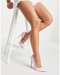 ASOS Penelope Stiletto Court Shoes - White