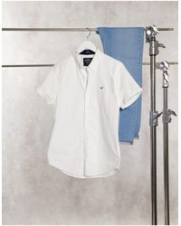 Hollister Camisa Oxford - Blanco