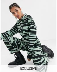 Another Reason Boiler Suit - Green