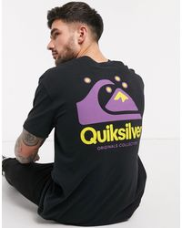 Quiksilver Og Quik Original T-shirt - Black