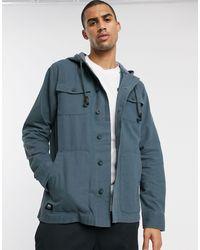 Vans Темная Куртка -синий