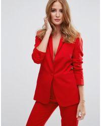 Millie Mackintosh Ashes Blazer - Red