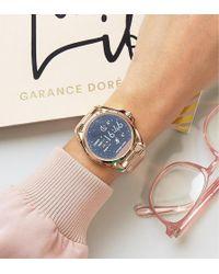 Michael Kors - Mkt5004 Access Rose Gold Bradshaw Smart Watch - Lyst