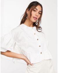 Sister Jane - Camicia comoda vintage con colletto - Lyst