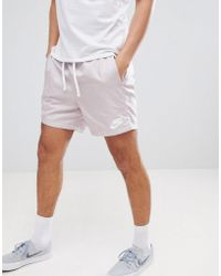 Nike - Woven Shorts In Pink 832230-684 - Lyst