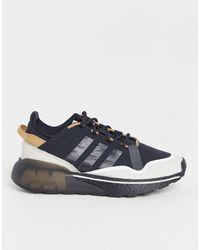 adidas Originals Черные Кроссовки Zx 2k Boost-черный Цвет
