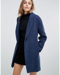 Closet - Wardrobe Slouchy Wool Coat - Lyst