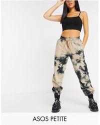 ASOS Asos Design Petite Oversized jogger - Multicolour