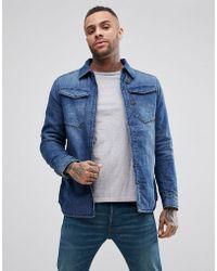 4a311d9d9a2 G-Star RAW Vodan 3d Slim Jacket in Blue for Men - Lyst