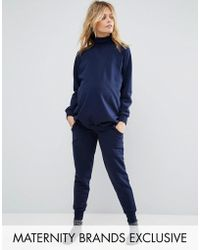 Bluebelle Maternity - Lounge Jogger - Lyst
