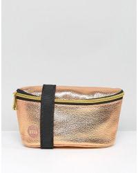 Mi-Pac Bum Bag Metallic Rose Gold