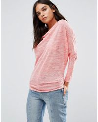 Wal-G - Cowl Front Top - Lyst