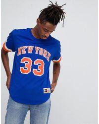 Mitchell & Ness - Nba New York Knicks Mesh T-shirt - Lyst