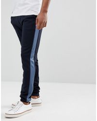 Farah - Weatherall Tricot Joggers In Navy - Lyst