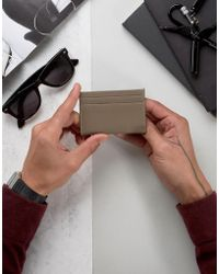 French Connection - Military Khaki Card Holder - Lyst