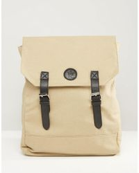 French Connection - Military Canvas Backpack - Lyst