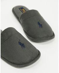 Ralph Lauren Polo - Summit Scuff - Instap-pantoffels - Grijs