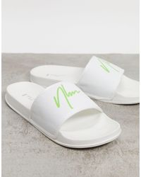 New Look Sandalias blancas NLM - Blanco